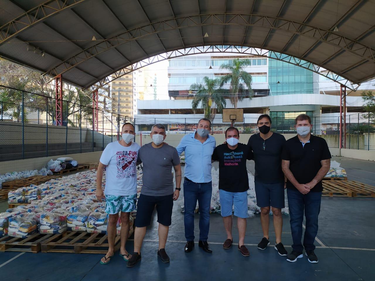 GGTIC-ES promove ação de solidariedade para apoiar famílias afetadas pela pandemia da COVID-19